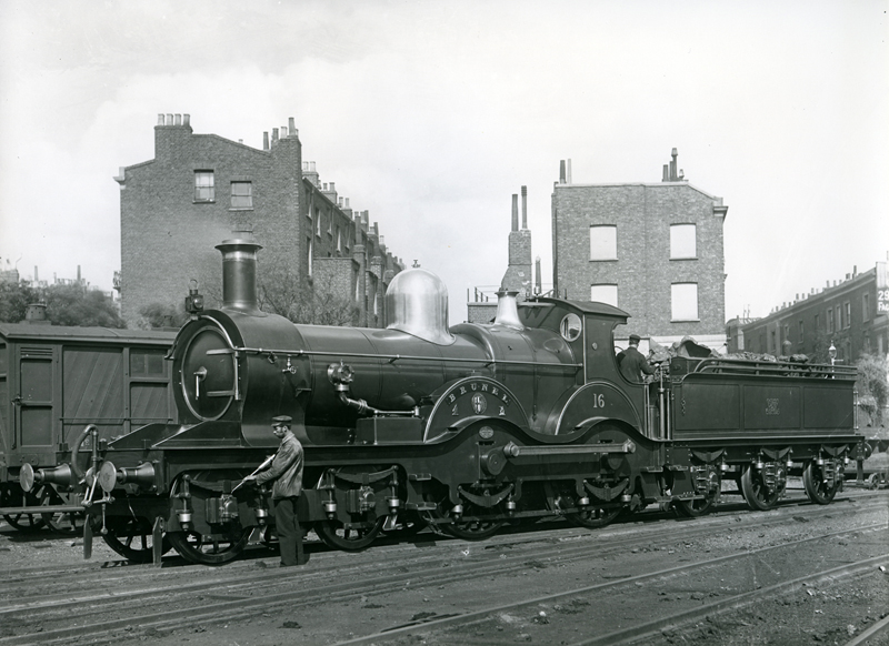 GWR 'Armstrong' class 16 'Brunel' in original condition