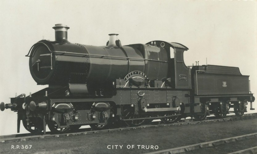 GWR 'City of Truro' in 1957