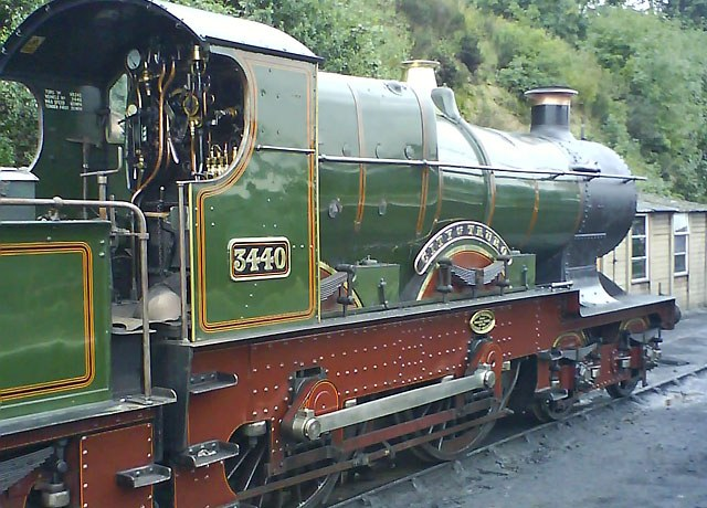 GWR City 3440 'City of Truro' on the Severn Valley Railway