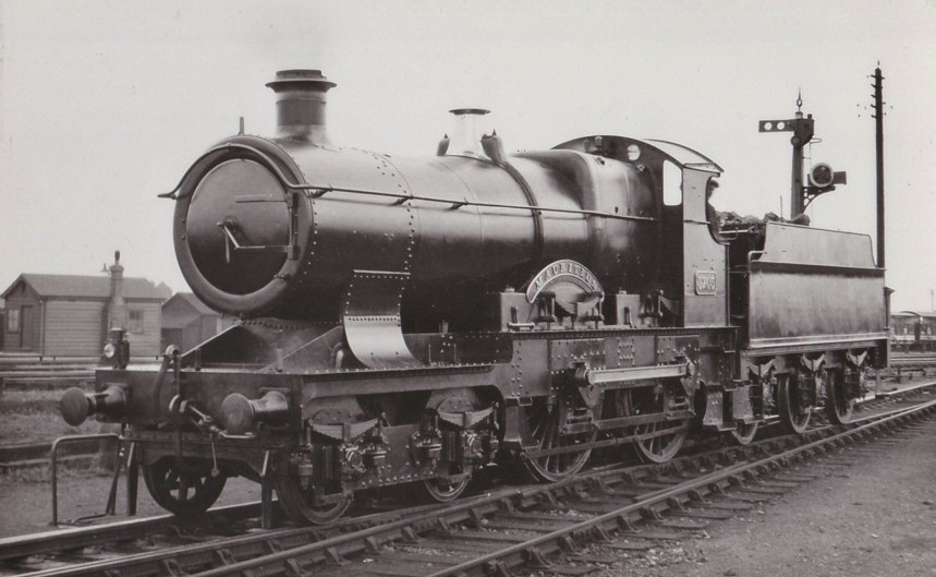 GWR City 3705 'Mauritius, in final condition