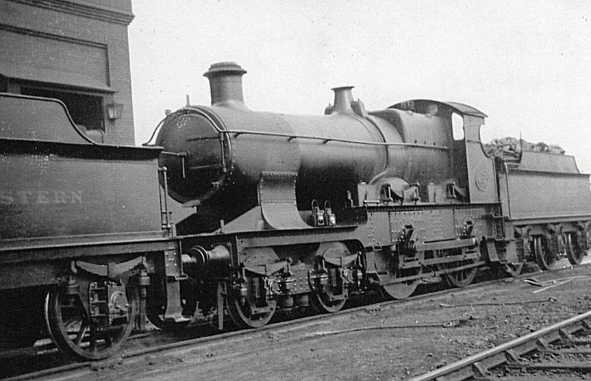 GWR Atbara class 4137 'Wolseley', at Oxley shed, 25 February 1927