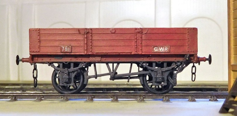 GWR 4-plank open with DCI brakes
