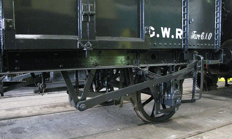 GWR Iron Mink diagram V6 brake arrangement