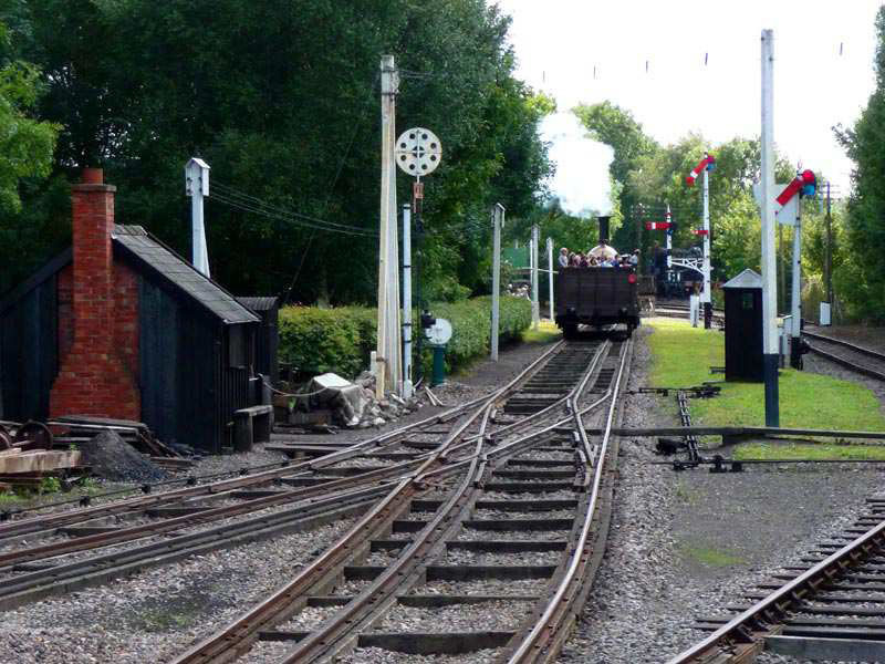 Broad Gauge and mixed gauge pointwork at Didcot Railway Centre