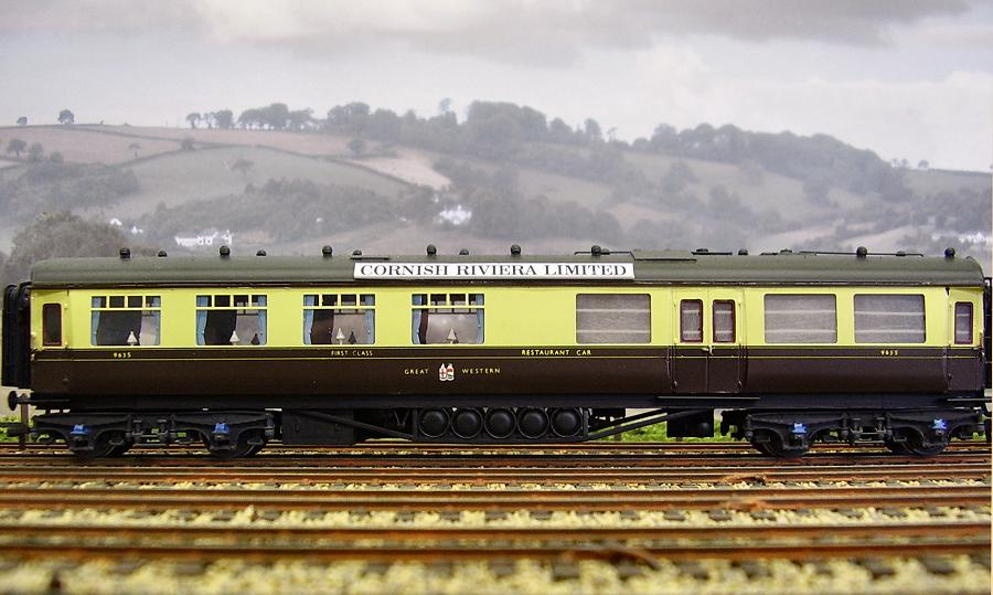 Gwr Showcase  4mm Coaches By Robin Sweet