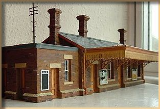 William Clarke style station in 7mm scale by Keith Barber