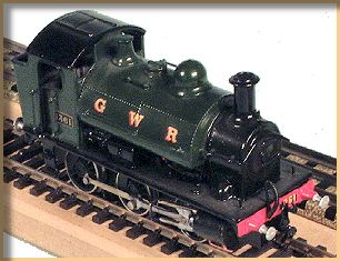 GWR 1361 class built from a K's kit