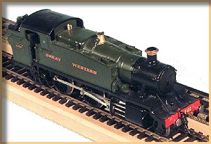 GWR 61xx class built from a Wills kit