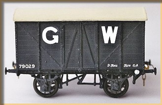 Cooper Craft Gwr Wooden Bodied Vans