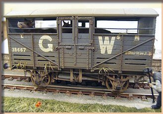 GWR cattle wagon diagram W5
