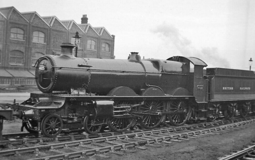 GWR Star 4025 in 1948, in unlined green