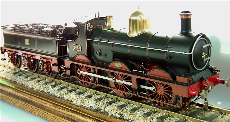 Lee Marsh model of GWR Dean Goods 2487