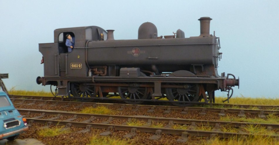 Pannier 4614, from a Minerva model, weathered by James Harrison
