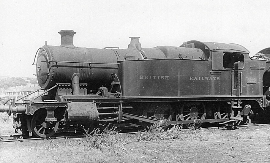 GWR 4229 at Newport Pill in 1950