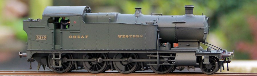Hornby 2-8-0T by James Mower