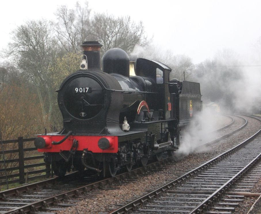 Dukedog 9017 at the Bluebell Railway in 2011