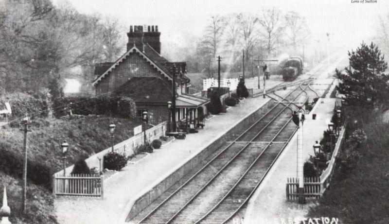 Highclere station, pre-WWI