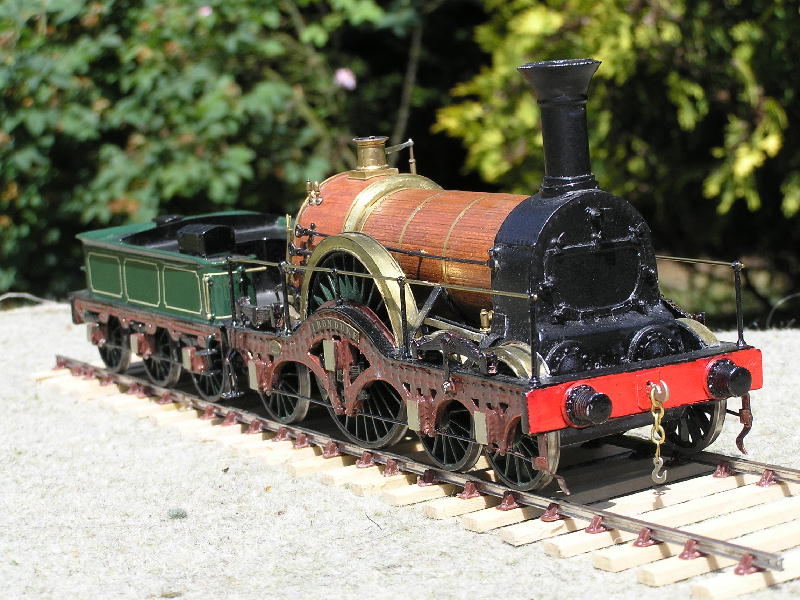 7mm scale broad gauge GWR Iron Duke