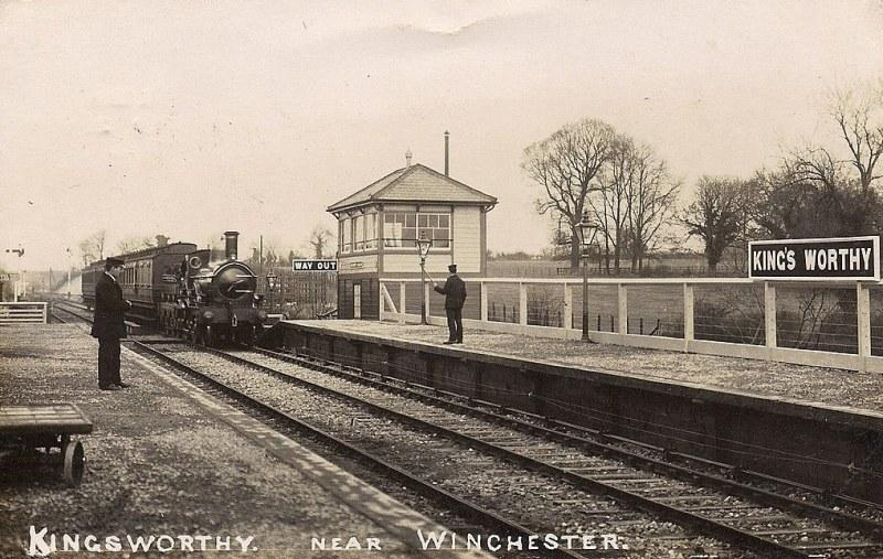 King's Worthy station