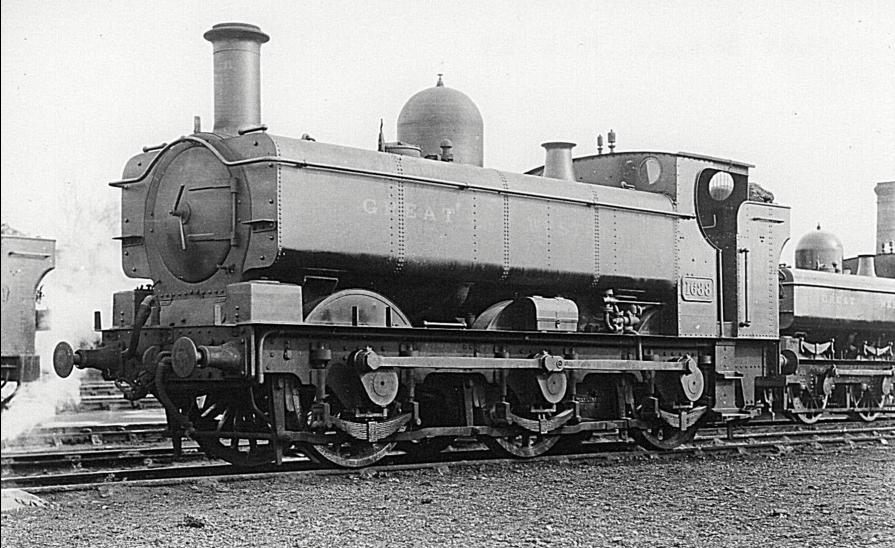 GWR 1661 class 1688 at Oxford, 9 April 1927
