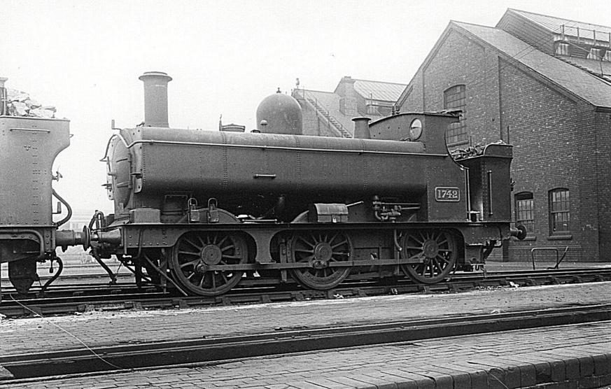 GWR 1742 at Tyseley on 13 October 1935
