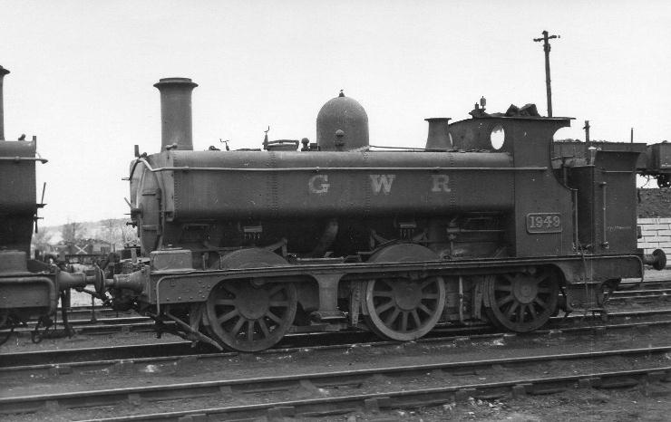 GWR 1949 at Oxford