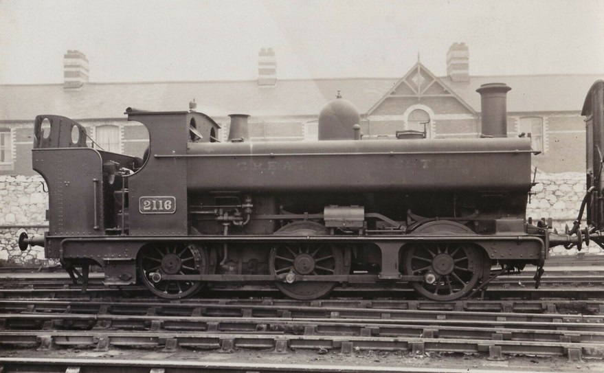 GWR 2116 0-6-0PT with rear weatherboard