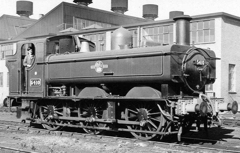 GWR 5410 at Southall