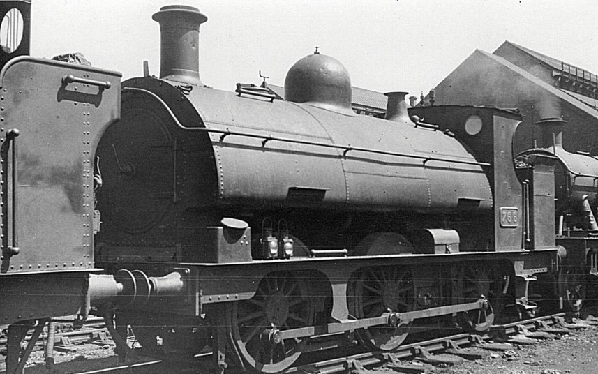GWR saddle tank 766 of the 645 class
