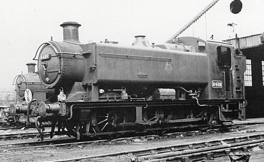 8489 at Radyr, 30 May 1954