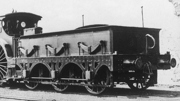 GWR Broad gauge tender of loco 14