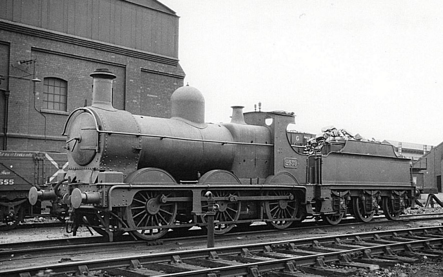 GWR Dean Goods 2439 at Tyseley, 15 July 1934