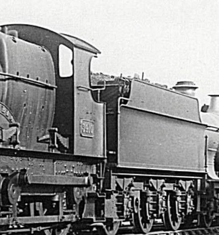 flared cabsheets on a GWR Bulldog