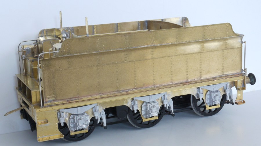 7mm model of 3500g 'intermediate' tender built by Tony Geary