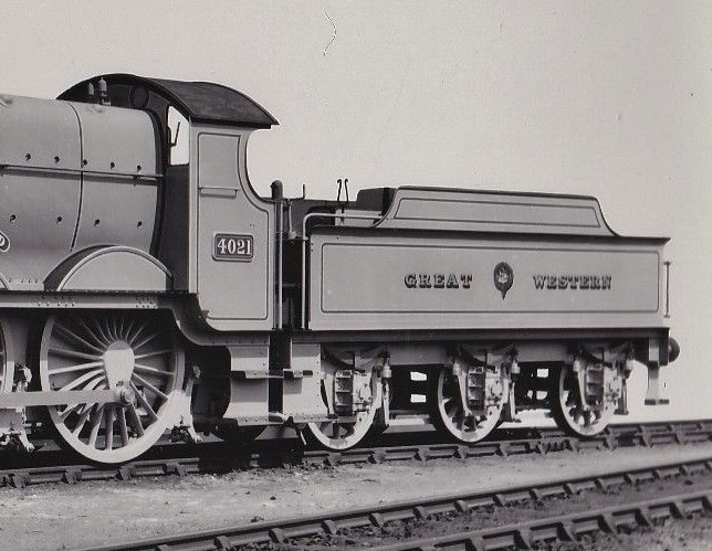 GWR Star 4021 in June 1909