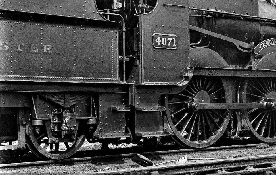 tender of GWR Abbey 4071