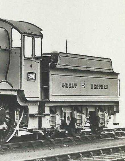 tender of GWR Hall 4901
