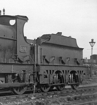 Armstrong tender on Standard Goods 510 at Reading, c 1925