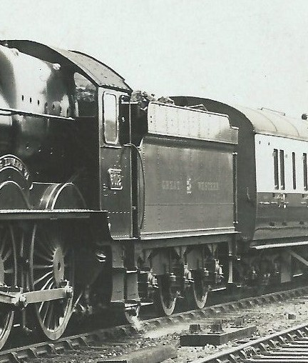Tender behind GWR King 6012
