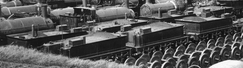 Broad Gauge tenders on Swindon dump, May 1892