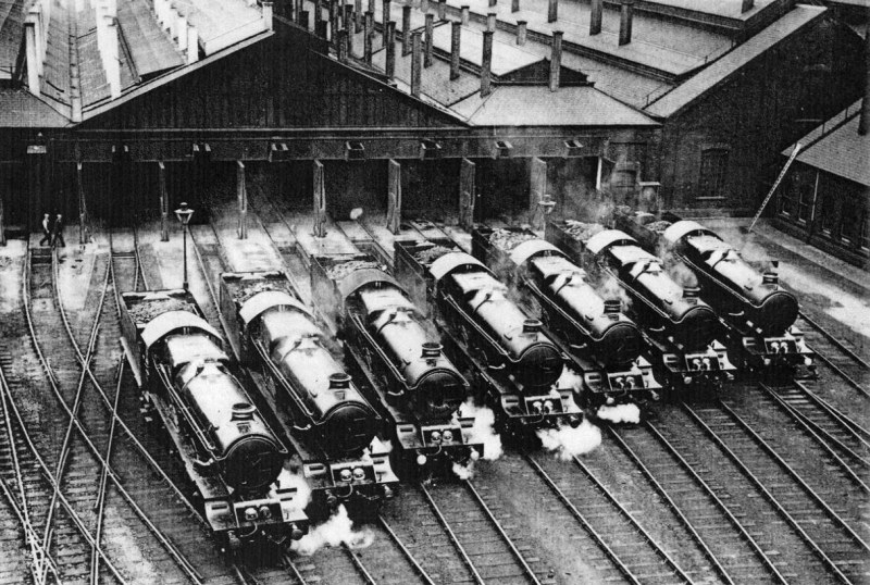 King lineup at Swindon, 1927